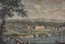James Rofs (British 18th century)Two views of the Borough of Bewdley in Worcestershire