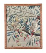 A Continental, possibly French, verdure tapestry fragment