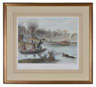 A set of six framed prints after Francis Calcraft Turner