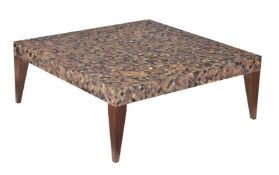 A low coffee table