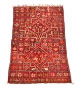 A Moroccan carpet