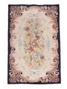 A Continental woven rug or wall hanging