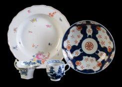 A Chelsea porcelain soup plate