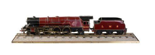 A Bassett-Lowke model of the London Midland and Scottish 4-6-2 tender locomotive 'Duchess of Buccleu