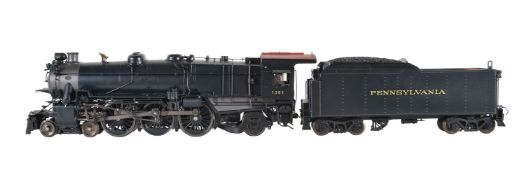 A gauge 1 AML division of 'Accucraft Trains' model of a K4 4-6-2 American 'Pennsylvania Railway' te