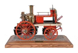 A 2 inch scale model of a Shand Mason horse drawn fire engine
