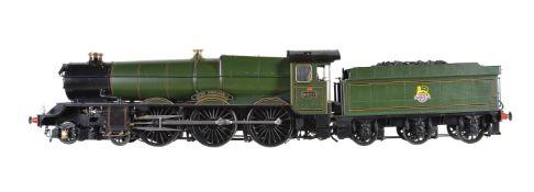 A 5 inch gauge model of Great Western Railway King Class 4-6-0 tender locomotive King Richard I No 6