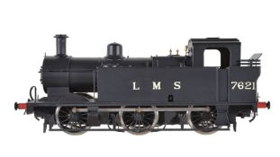 A gauge 1 Sancheng model of a 0-6-0 side tank locomotive No 7621