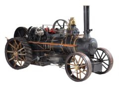 An exhibition standard pair of 2 inch scale K5 Fowler Ploughing engines