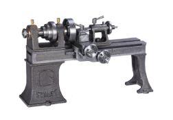 A Stuart Turner miniature workshop metal turning lathe