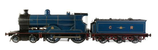 A 5 inch gauge model of a 4-4-0 'William Pickersgill' Caledonian Railway tender locomotive No 114