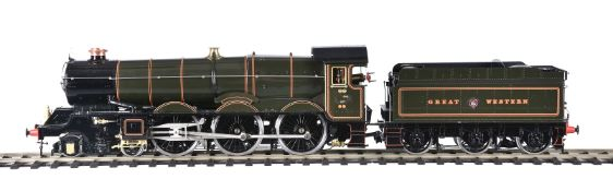 An Aster for Fulgurex gauge 1 model of a Great Western Railways 4-6-0 tender locomotive No 6000 'Kin