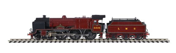 A kit-built gauge 1 model of a 'Patriot Class' tender locomotive No 5516 'The Bedfordshire and Hert