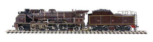 An Aster for Fulgurex Chapelon Nord 4-6-2 (2-3-1) spirit fired locomotive and four-axle bogie tender