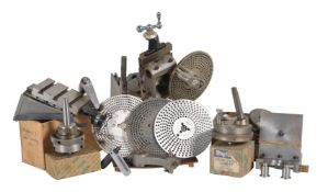 A collection of Myford lathe parts