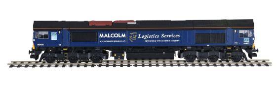 A gauge 1 Freightliner diesel locomotive 'Malcolm'