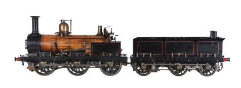 A 5 inch gauge model of a Great Northern Railway 0-6-0 tender locomotive 'Sturrock'