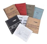 A collection of eight Gardner engine catalogues and manuals