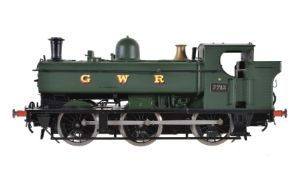 A gauge 1 Sancheng model of a GWR pannier tank locomotive No 7713