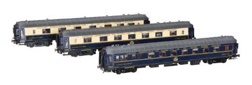 CIWL twin bogie corridor Pullman coaches