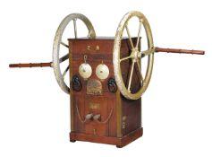 A deep-sea diving gear pump by Siebe Gorman of London