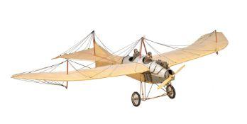 A model of a First World War German Fighter/Bomber Etrich Tauber aeroplane