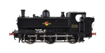 A gauge 1 Sancheng model of a 0-6-0 pannier tank locomotive. No 3781