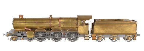 Gauge 3 model of Great Western Railways King Class 4-6-0 tender locomotive King William III No 6007