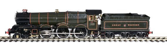 Great Western Railway King Class 4-6-0 tender locomotive No 6005 King George II