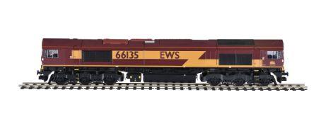 A gauge 1 Freightliner diesel locomotive EWS No 66135