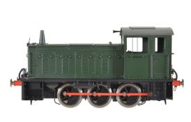 A gauge 1 Sancheng model of a 0-6-0 diesel locomotive