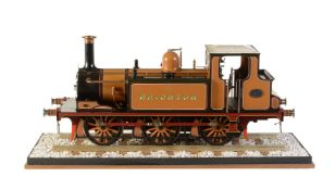 A 5 inch gauge model of a 0-6-0 London Brighton and South Coast Railway 'Terrier' side tank locomoti