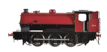A gauge 1 Sancheng model of an 0-6-0 saddle tank locomotive No 6