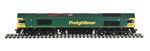 A gauge 1 Freightliner diesel locomotive No 66610