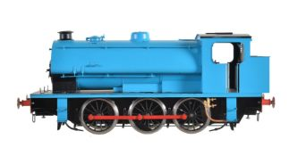 A gauge 1 Sancheng model of an 0-6-0 saddle tank locomotive