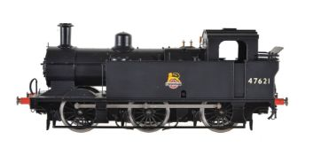 A gauge 1 Sancheng model of a 0-6-0 side tank locomotive No 47621