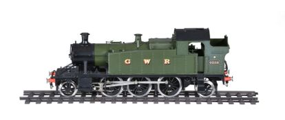 A gauge 1 model of a 2-6-2 prairie side tank locomotive No 4588