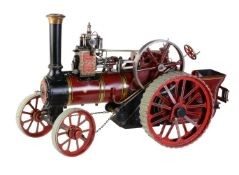 A well-engineered 1 ½ inch scale model of a Burrell compound general purpose agricultural traction e