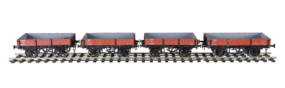 A collection of freight stock