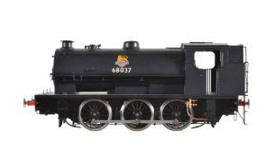 A gauge 1 Sancheng model of an 0-6-0 saddle tank locomotive No 68037