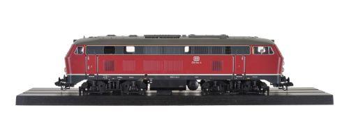 A Märklin gauge 1 diesel locomotive DB-218 304-4