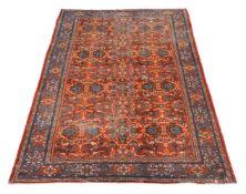 A Ziegler Mahal carpet