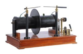 A large laboratory electric induction coil