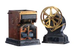 An 'Excelsior' telegraphic date and time stamping machine Gamewell Fire Alarm Telegraph Company