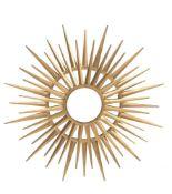 Line Vautrin (style of), a circular wall mirror