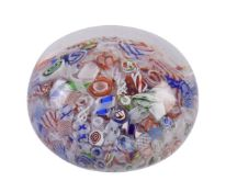 A French scramble paperweight