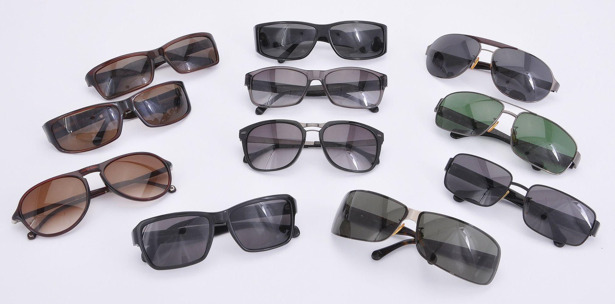 Lot 1086 - A collection of Ermenegildo Zegna sunglasses
