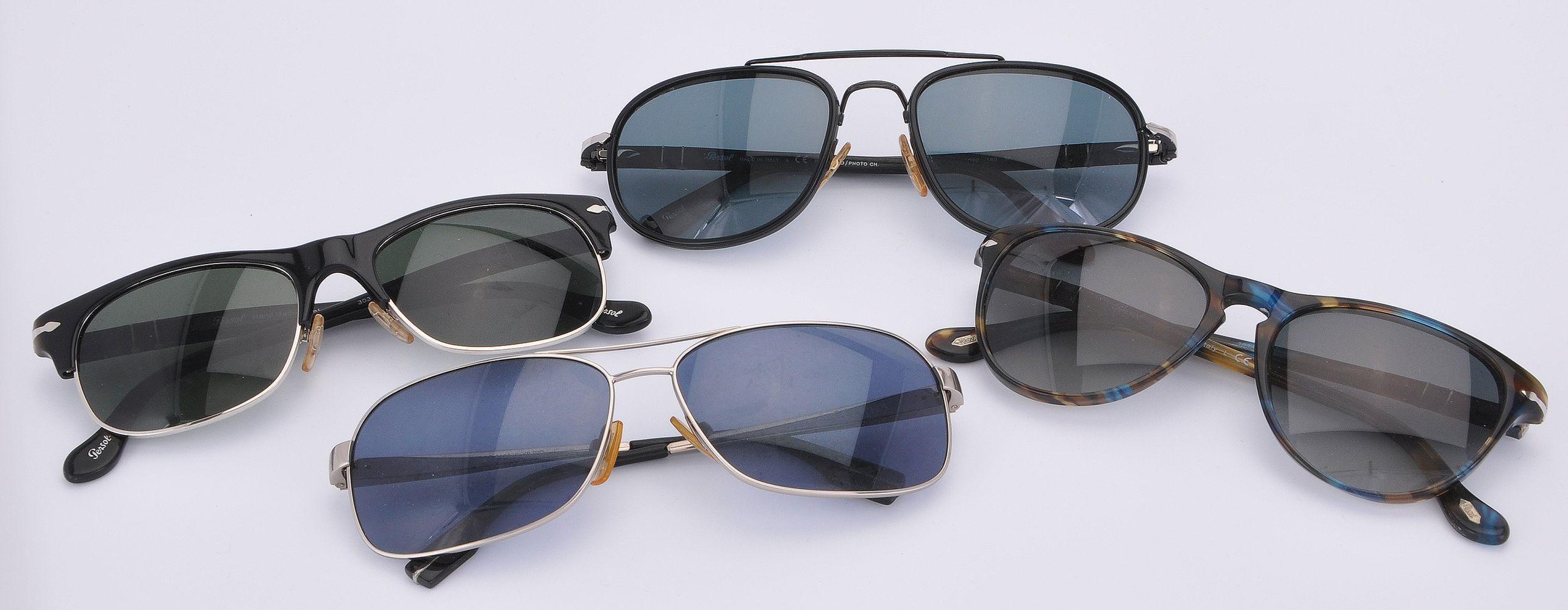 Lot 1100 - Persol, three pairs of sunglasses