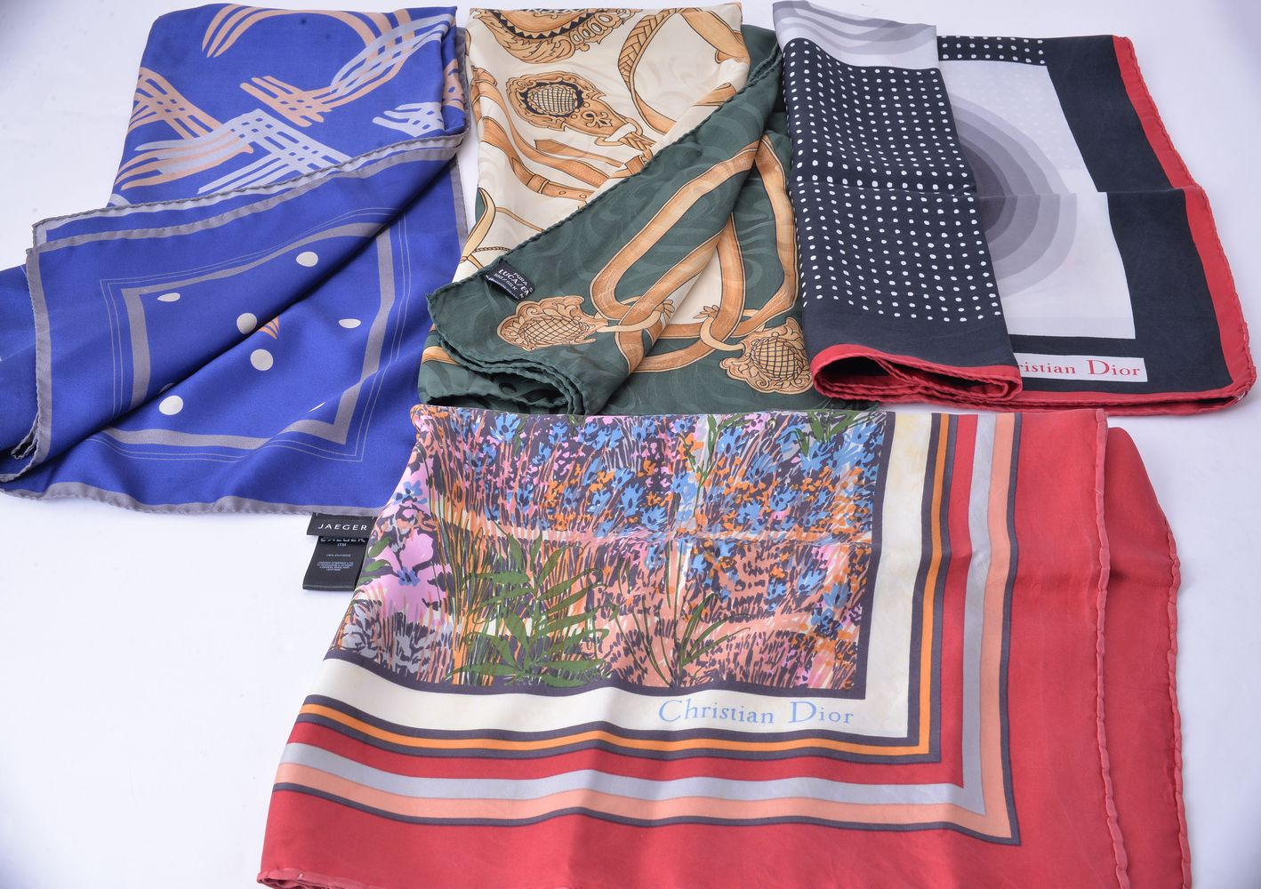 Lot 1153 - A collection of scarves