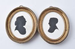A Private Collection of Silhouettes & Miniatures